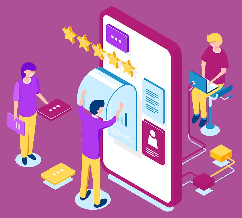 Somos uma plataforma de experiência do cliente